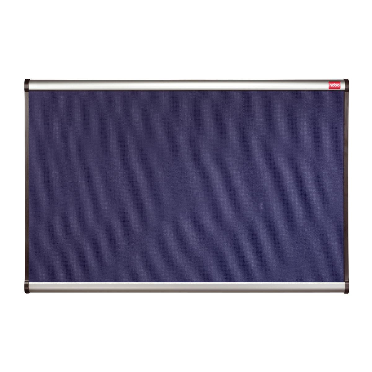 Nobo Prestige Noticeboard Diamond Mesh with Aluminium Finish W1200xH900mm Blue Ref QBPM1290B