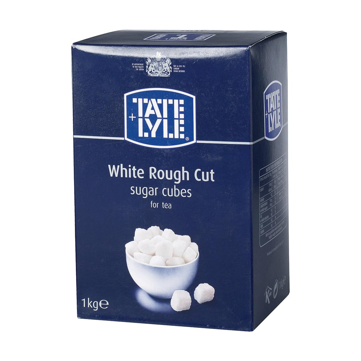 Sugar / Sweetener Tate & Lyle White Sugar Cubes Rough-cut 1 Kg Ref 412090
