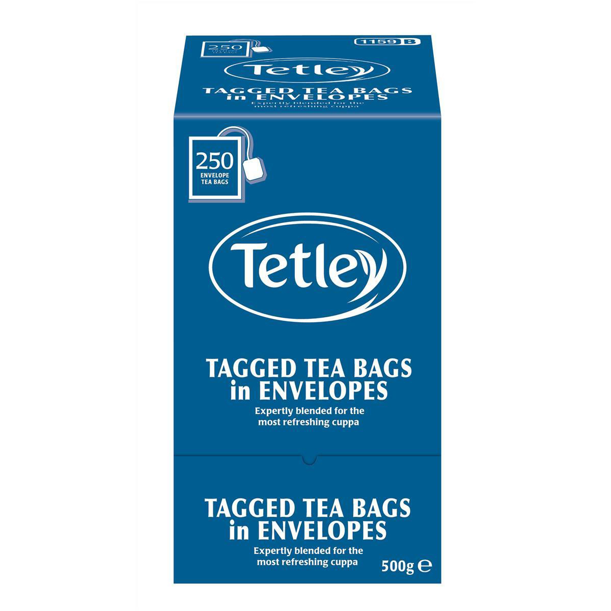 Tetley Tea Bags Tagged in Envelope High Quality Ref 1159B Pack 250