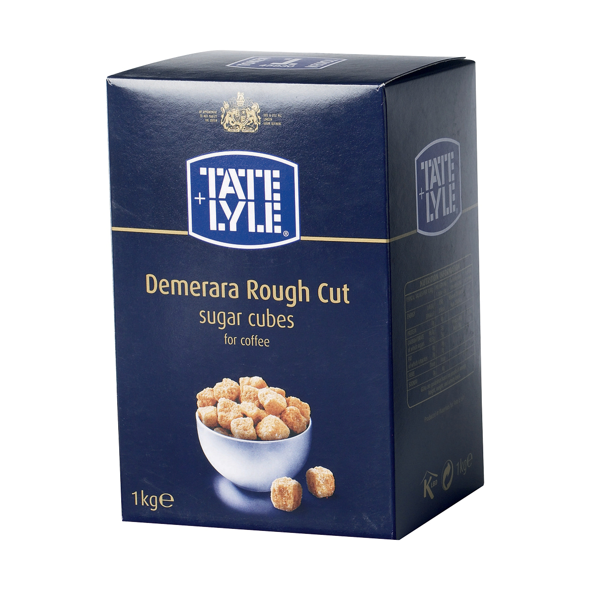Sugar / Sweetener Tate & Lyle Demerara Sugar Cubes Rough-cut 1Kg Ref A03903
