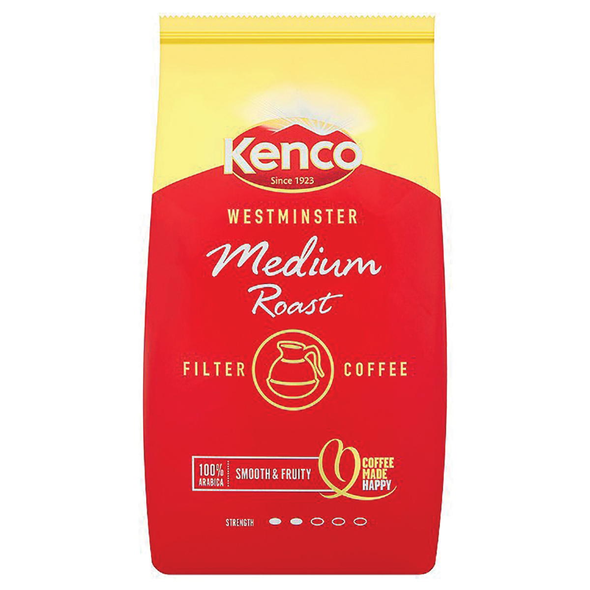 Coffee Kenco Westminster Ground Coffee for Filter Medium Roast 1Kg Ref 4032279