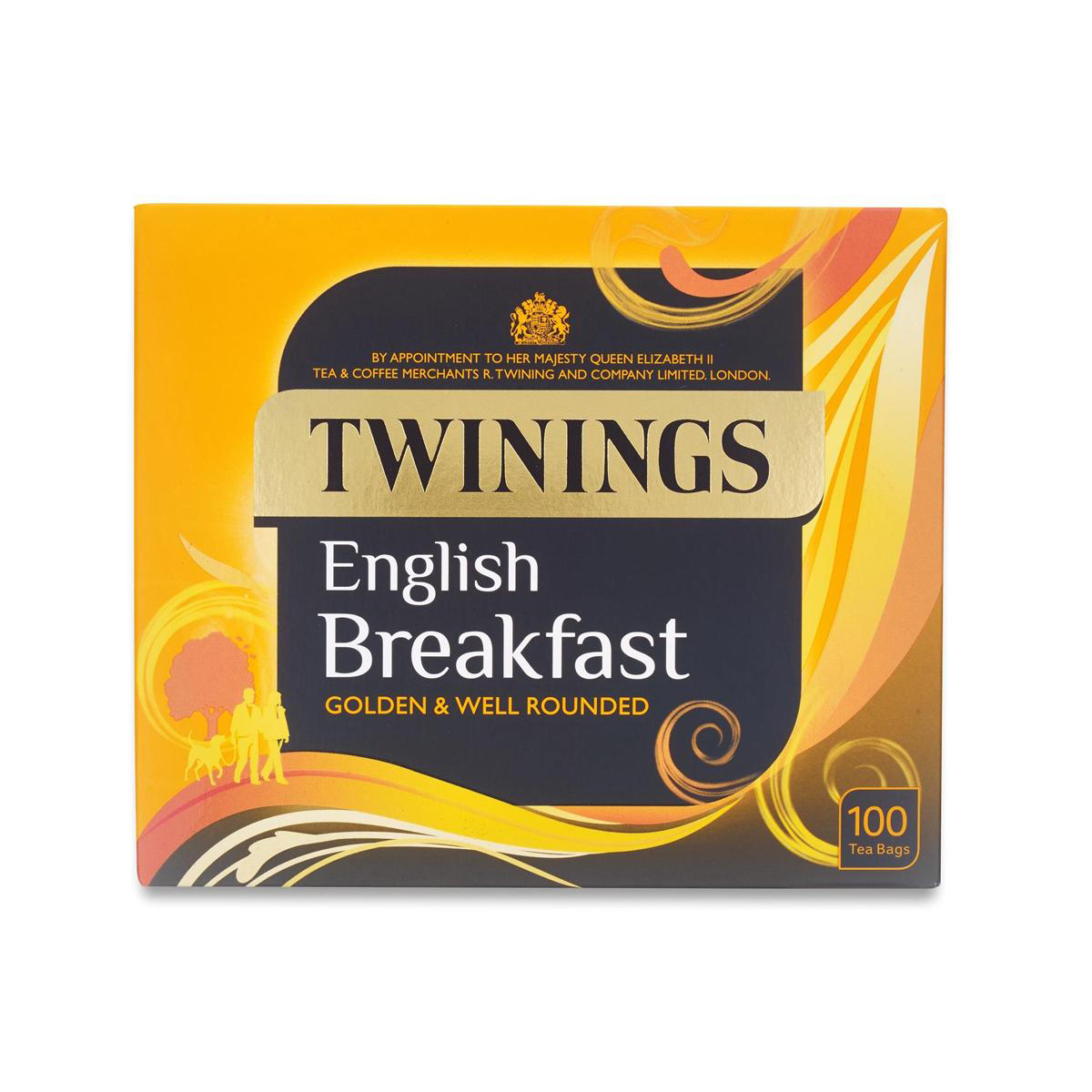 Twinings Tea Bags English Breakfast Fine High Quality Aromatic Ref 0403135 Pack 100