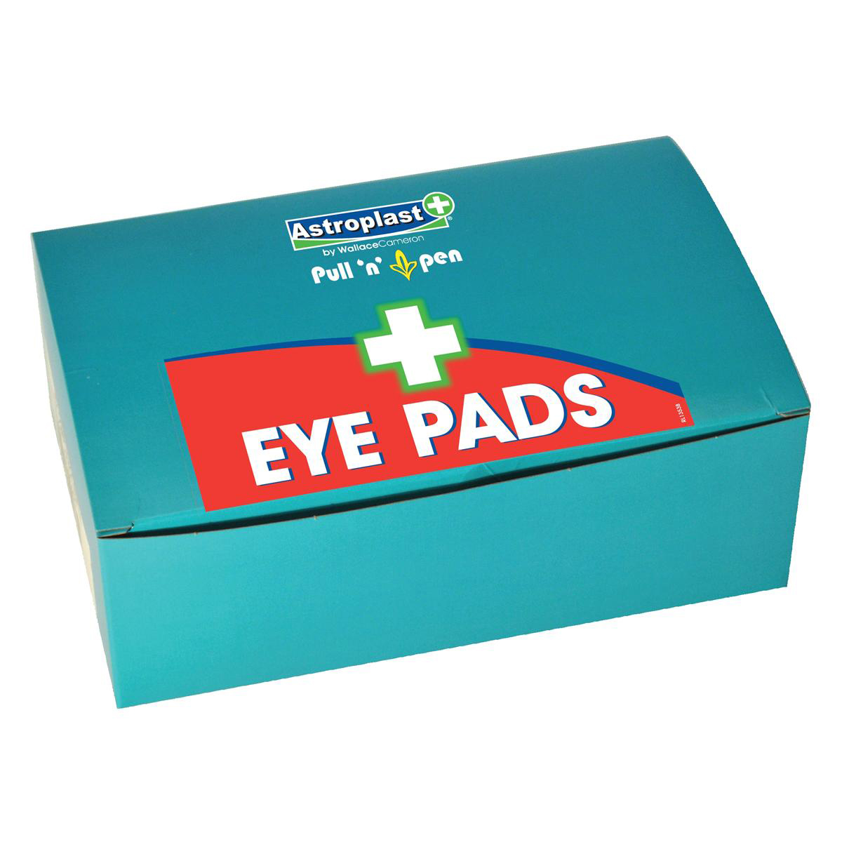Eyewashers or eye wash stations Wallace Cameron Astroplast Eyepads Twist & Open Refill Ref 1402081 Pack 6