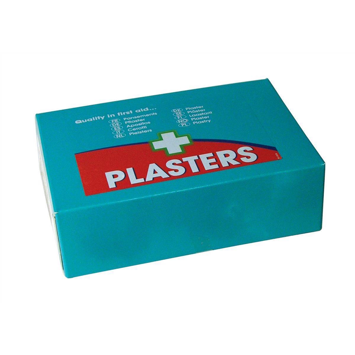 Wallace Cameron Pilferproof Plaster Twist & Open Refill Blue Ref 1214089 Pack 60