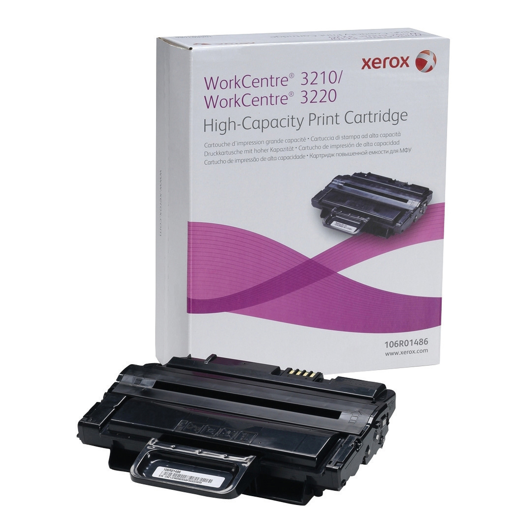 Xerox Work Centre 3210/3220 Laser Toner Cartridge High Yield Page Life 4100pp Black Ref 106R01486
