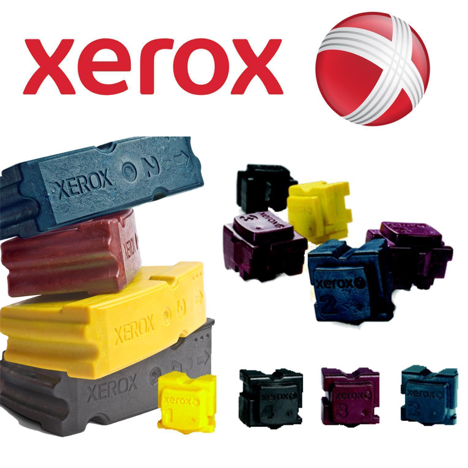 Xerox Solid Ink Sticks Page Life 4400pp Cyan Ref 108R00931 Pack 2