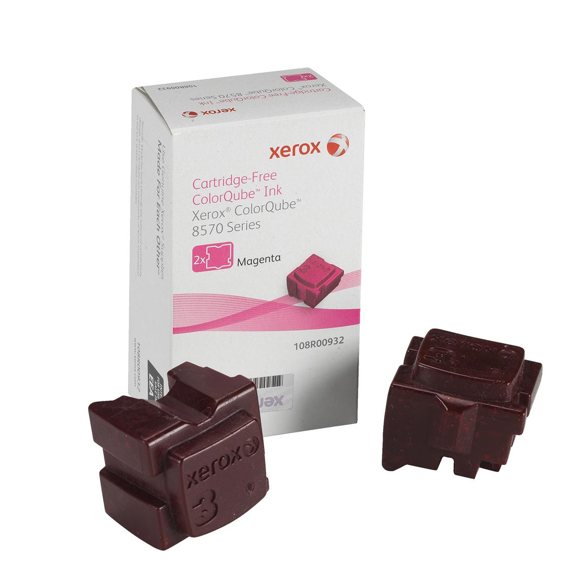 Xerox Soild Ink Sticks Page Life 4400pp Magenta Ref 108R00932 [Pack 2]