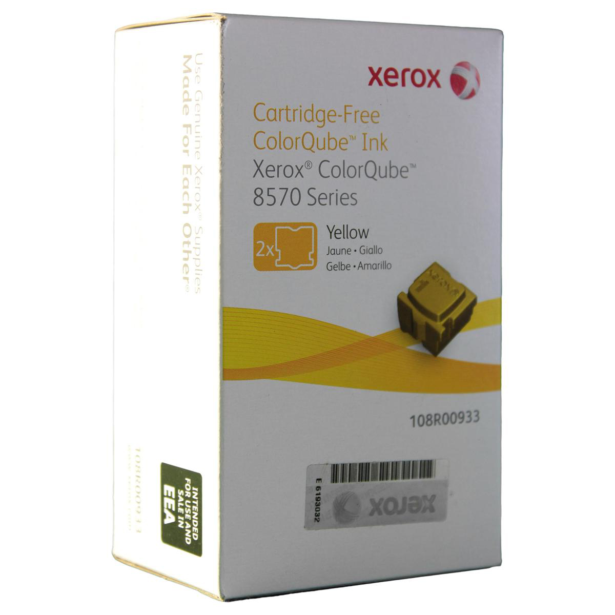 Ink Sticks Xerox Solid Ink Sticks Page Life 4400pp Yellow Ref 108R00933 Pack 2