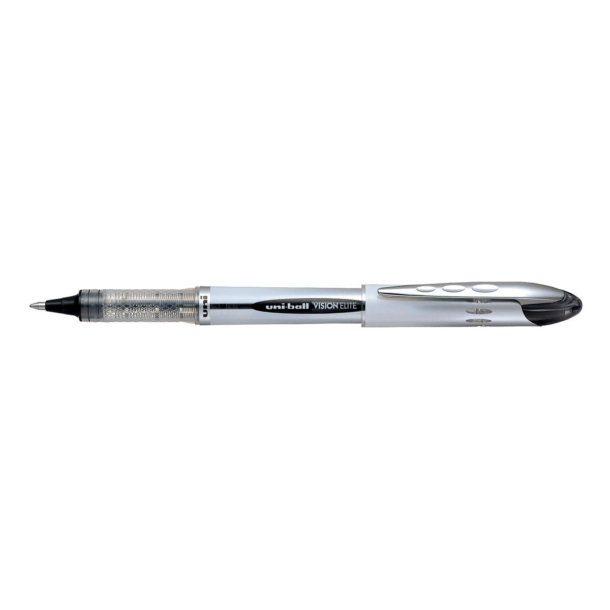 Uni-ball UB200 Vision Elite Rollerball Pen 0.8mm Tip Black Ref 707539000 [Pack 12]