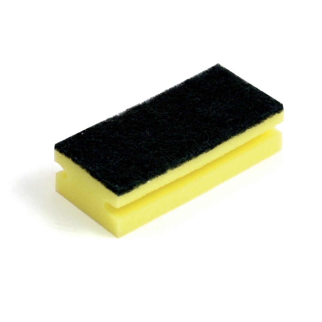 Cloths / Dusters / Scourers / Sponges Bentley Sponge Scourer W150xD65xH40mm Ref SPCSC0310 Pack 10