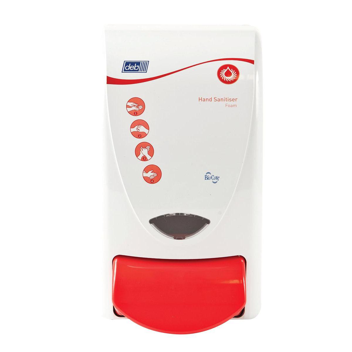DEB Instant Foam Hand Sanitiser Dispenser 1L Ref C00351