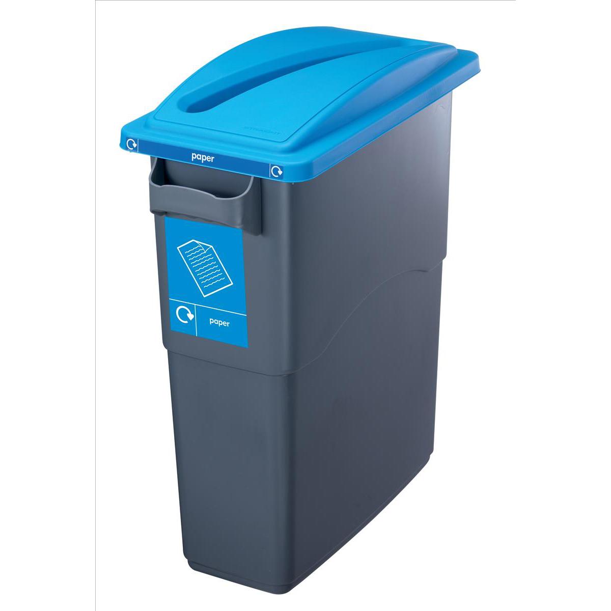 EcoSort Paper WstLid Blu SPICEECOPAPLID1