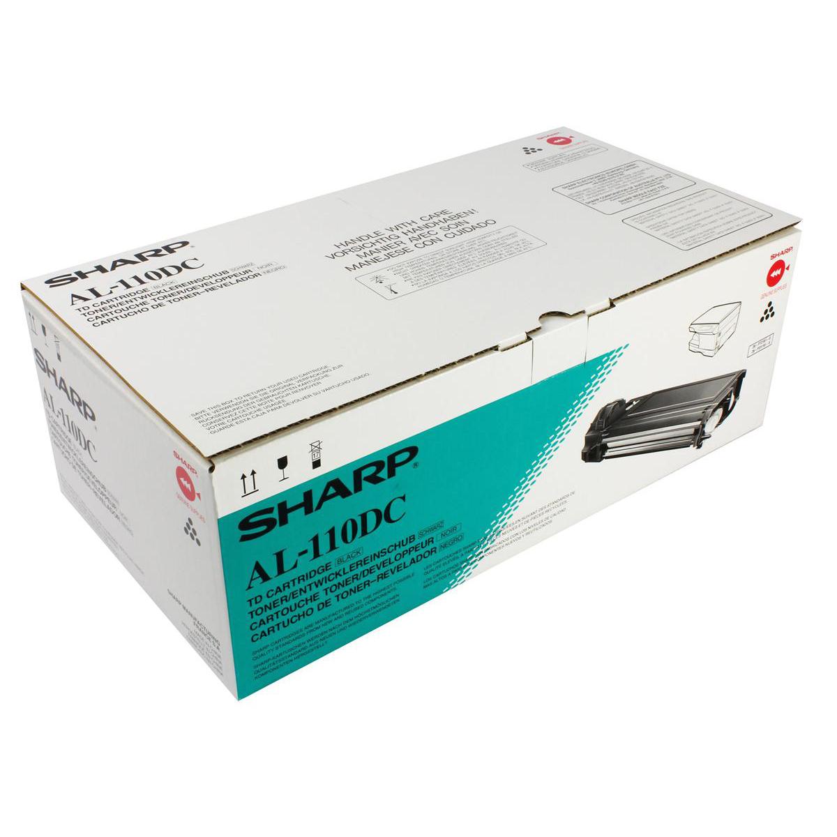 Sharp Laser Toner Cartridge Page Life 4000pp Black Ref AL110DC