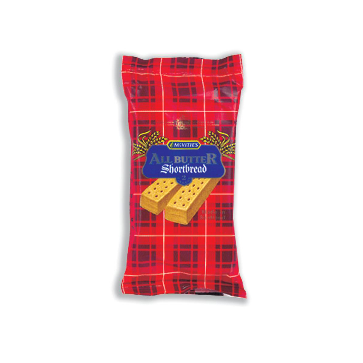 Biscuits McVities All Butter Shortbread Twinpack Ref A05021 [Pack 48]