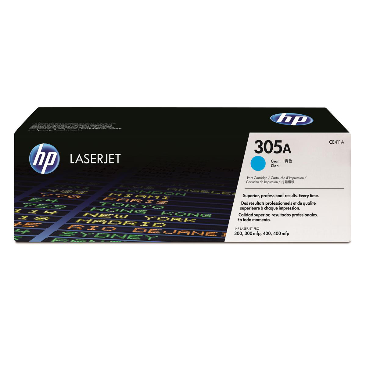 HP 305A Laser Toner Cartridge Page Life 2600pp Cyan Ref CE411A