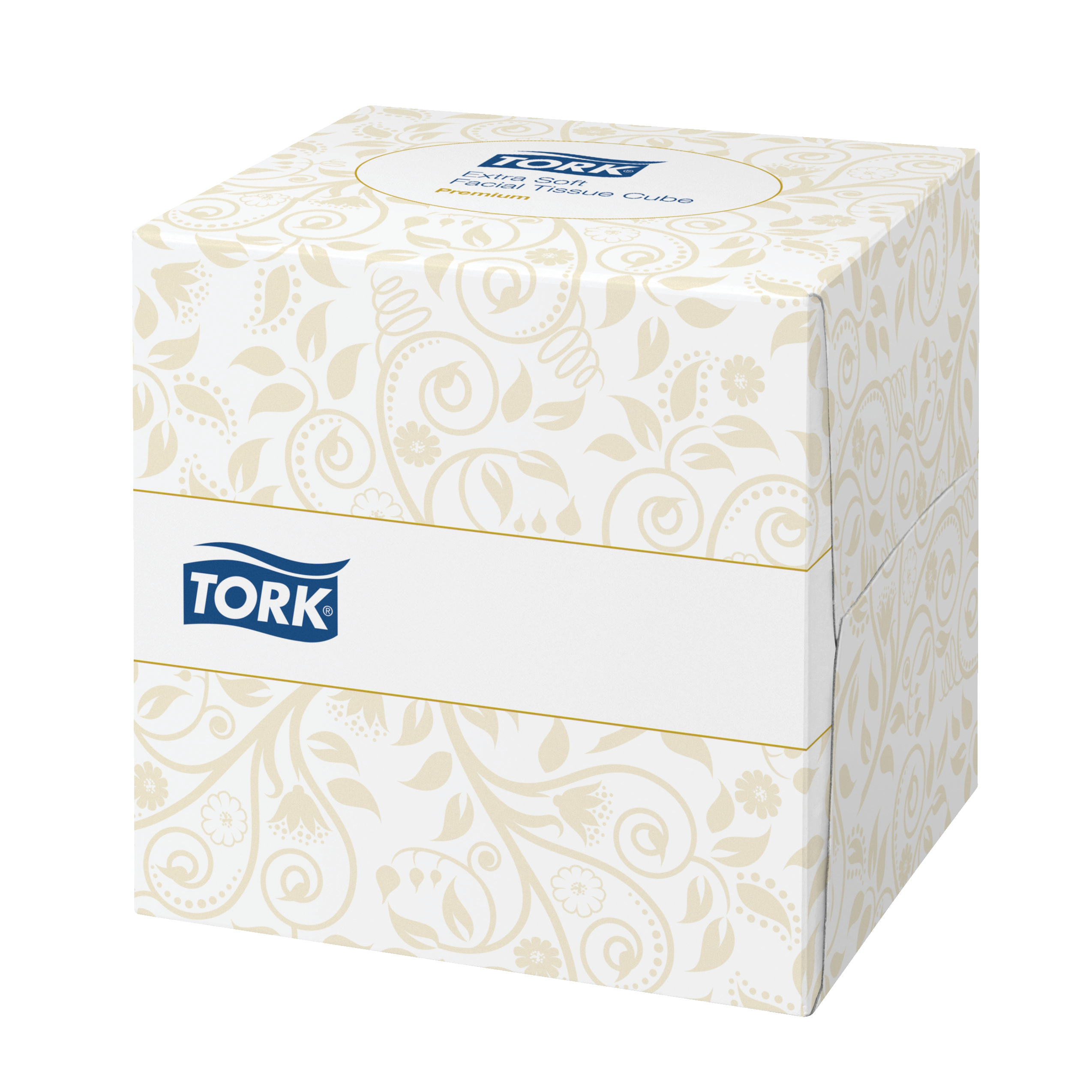 Facial Tissues Tork Facial Tissues Cube 2 Ply 100 Sheets White Ref 140278 Pack 30