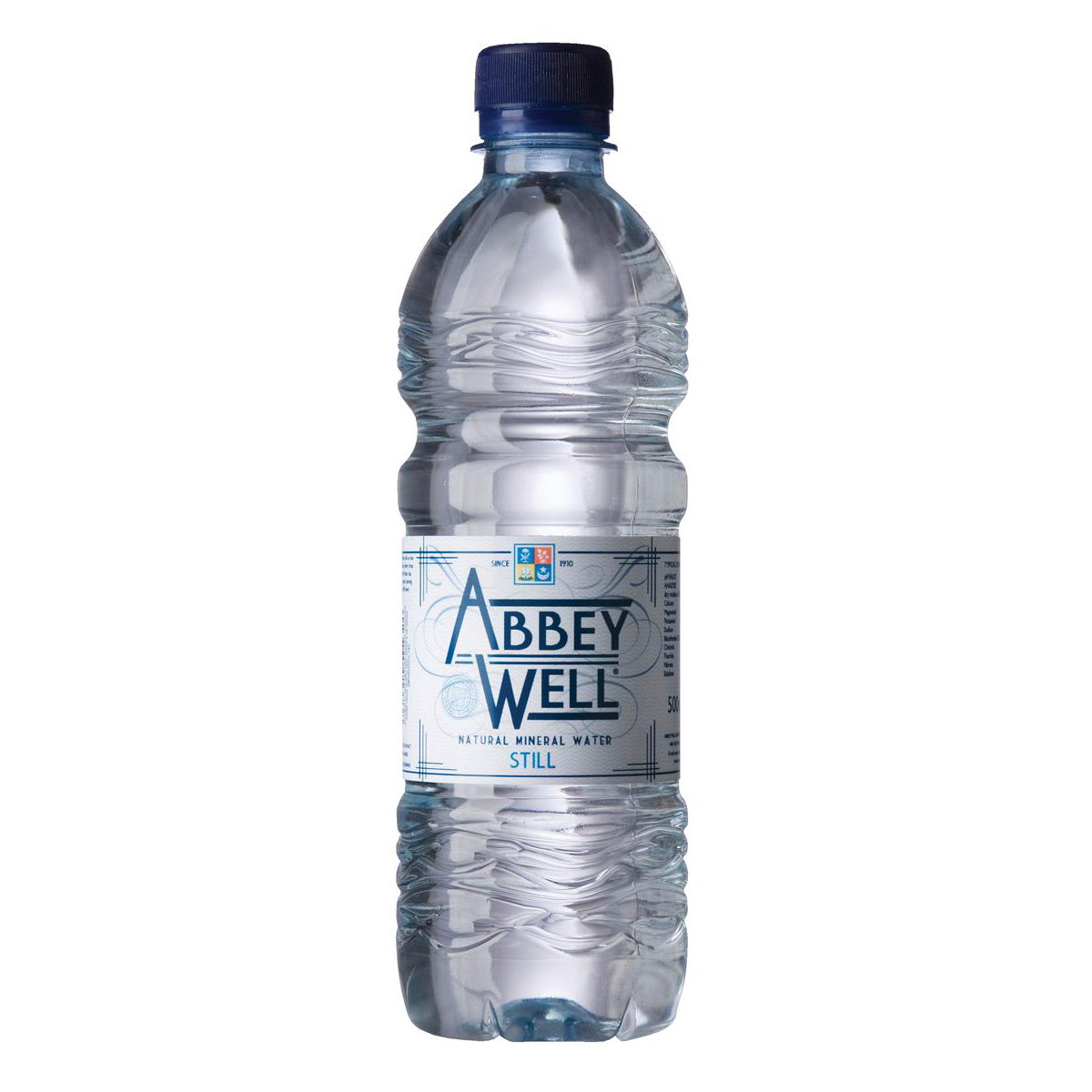 Abbey Well Natural Mineral Water Bottle Plastic Still 500ml Ref A03086 Pack 24