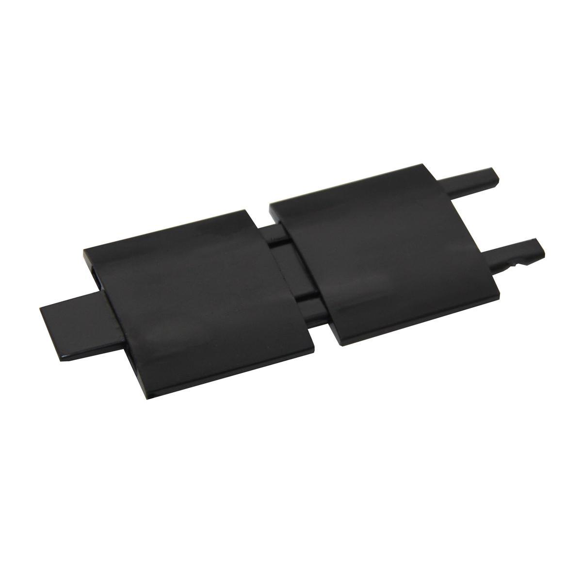 Rexel Agenda2 Risers W45xD6xH70mm Charcoal Ref 2101019 Pack 5