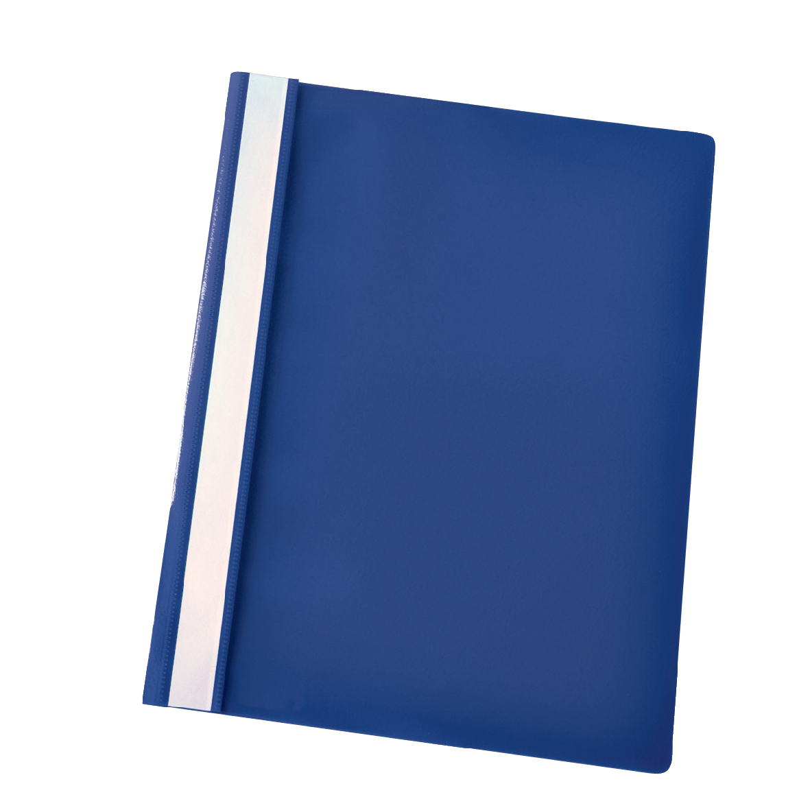Esselte Vivida Report Flat Bar File Polypropylene Clear Front A4 Dark Blue Ref 28315 [Pack 25]