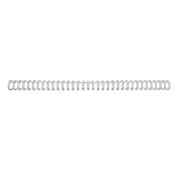 GBC Binding Wire Elements 34 Loop for 125 Sheets 14mm A4 Silver Ref RG810997U Pack 100