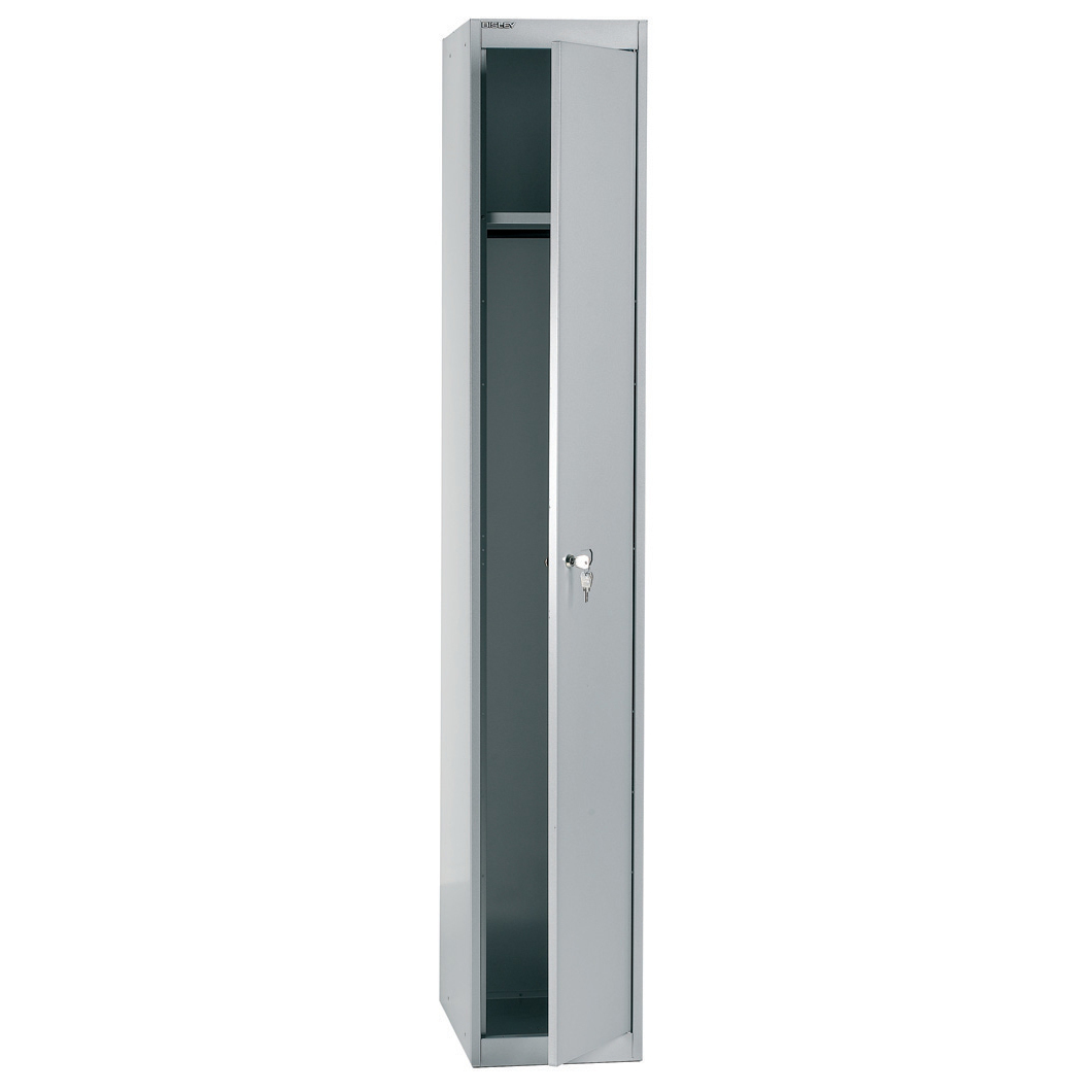 Bisley Locker 1 Door Goose Grey 305d Ref CLK121-av4