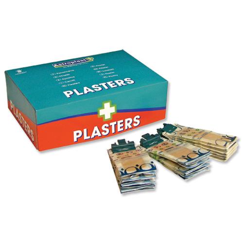 Wallace Cameron Pilferproof Plaster Refill Waterproof Ref 1204004 Pack 150