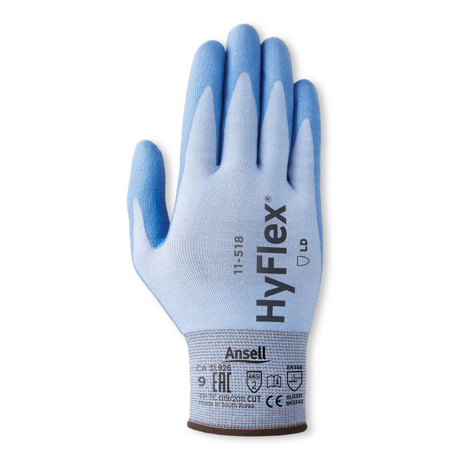 Ansell Hyflex 11-518 Glove Size 9 Large Ref AN11-518L *Up to 3 Day Leadtime*