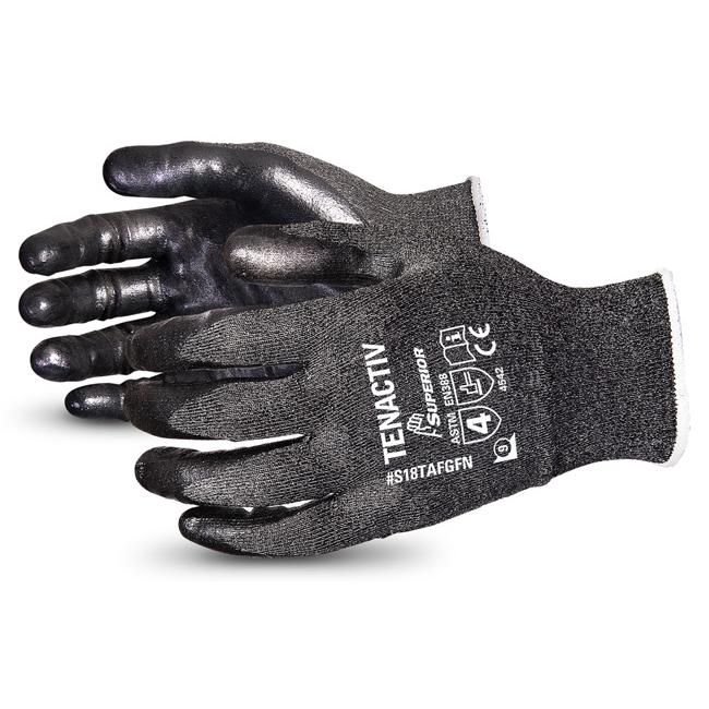 Limitless Superior Glove Tenactiv Filament Fibre Lev-5 Cut-Resist 11 Black Ref SUS18TAFGFN11 *Up to 3 Day Leadtime*