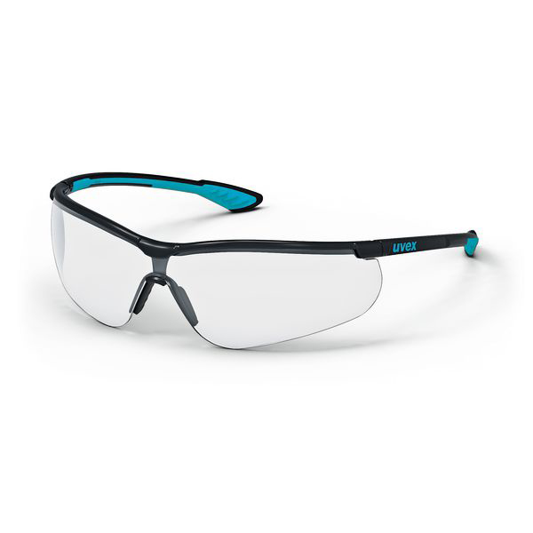 Uvex Sportstyle Spectacles Clear Ref 9193-376 Pack 5*Up to 3 Day Leadtime*