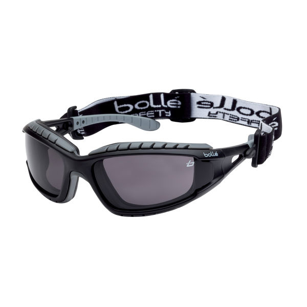 Bolle Tracker Smoke Safety Glasses Ref BOTRACPSF [Pack 10] Up to 3 Day Leadtime