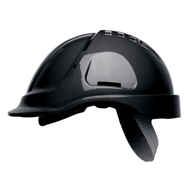 Scott HC600 Vented Helmet Black Ref HC600VBLK *Up to 3 Day Leadtime*