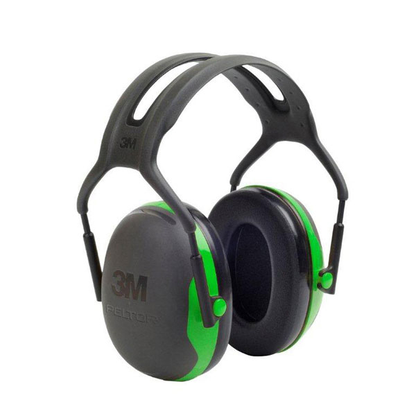 Peltor X1 Headband Ear Defenders 22dB Green Ref X1A Up to 3 Day Leadtime