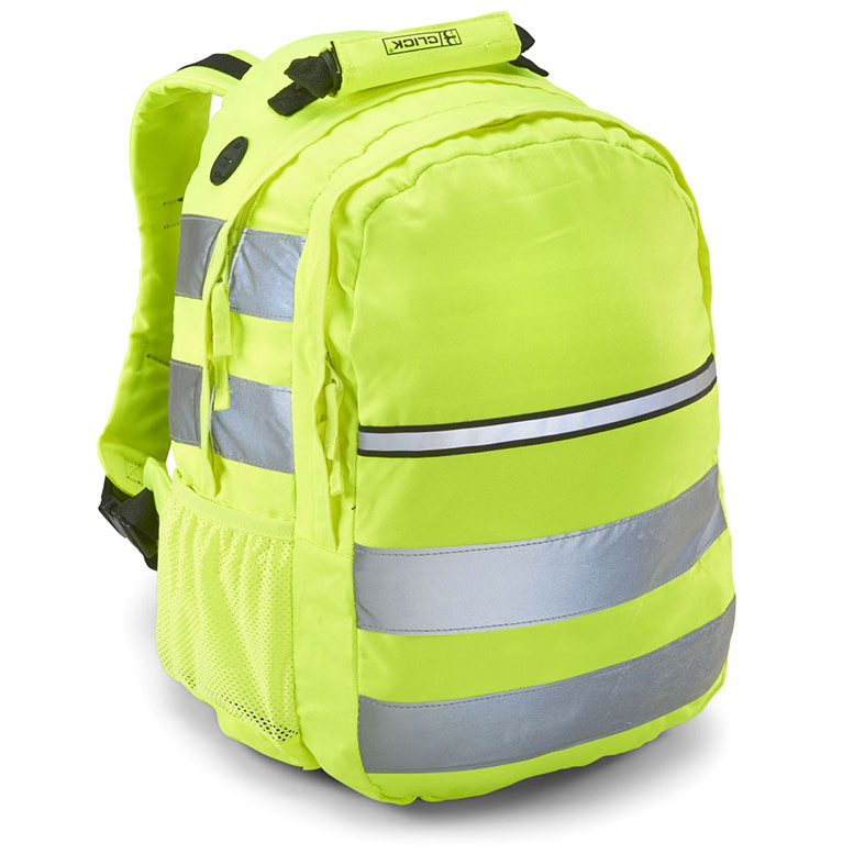 Briefcases & Luggage B-Seen Hi-Vis Rucksack 25 ltr Yellow Ref CHVRSY *Up to 3 Day Leadtime*