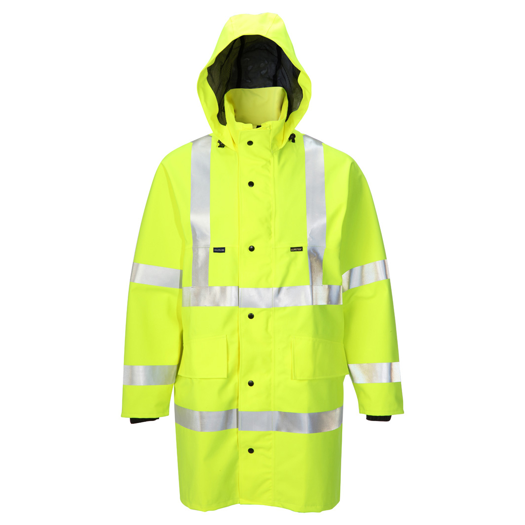 B-Seen Gore-Tex Jacket for Foul Weather Small Saturn Yellow Ref GTHV152SYS Up to 3 Day Leadtime