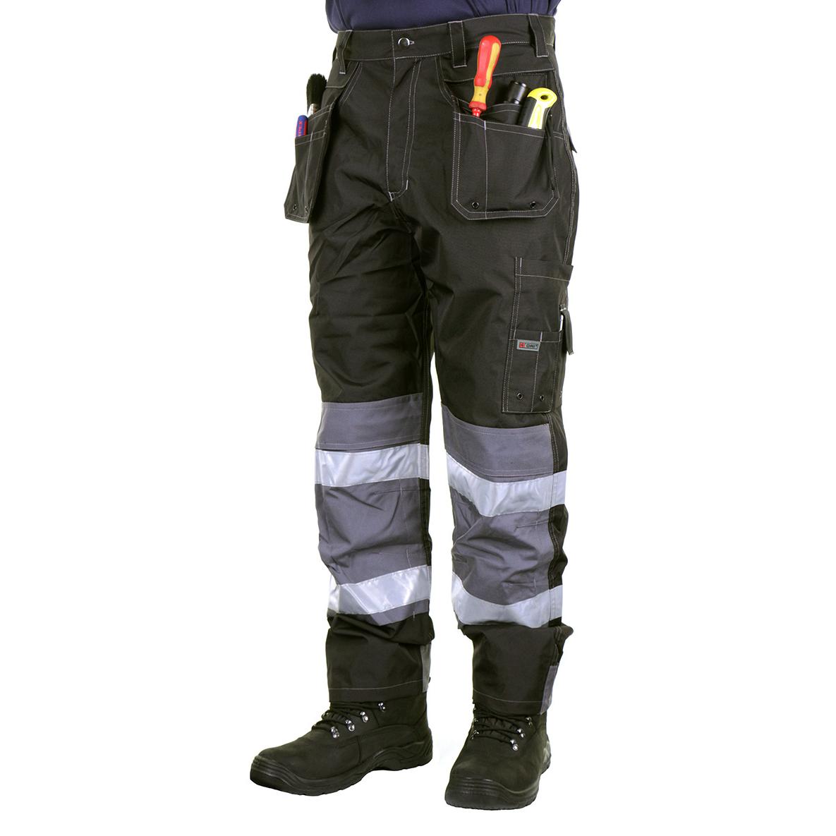 B-Dri Weatherproof Banbury Trousers Multi-pocket Black 30-Tall Ref BTBL30T *Up to 3 Day Leadtime*