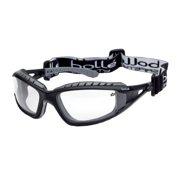 Bolle Tracker Clear Safety Glasses Ref BOTRACPSI [Pack 10] *Up to 3 Day Leadtime*