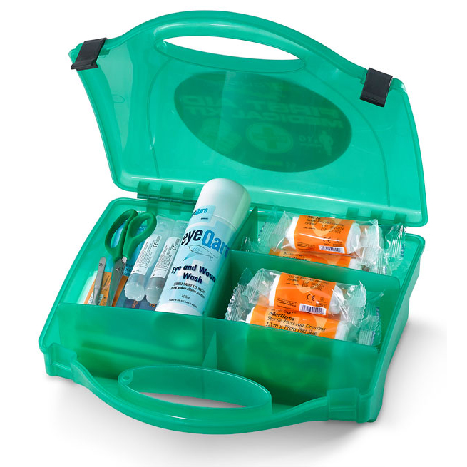 Click Medical Traders First Aid Kit 10 Person Ref CM0210 Up to 3 Day Leadtime