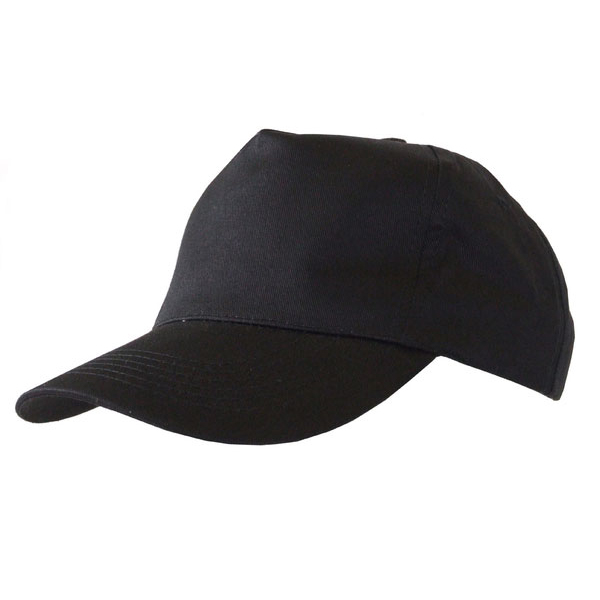 Limitless Click Workwear Baseball Cap Black Ref BCBL *Up to 3 Day Leadtime*