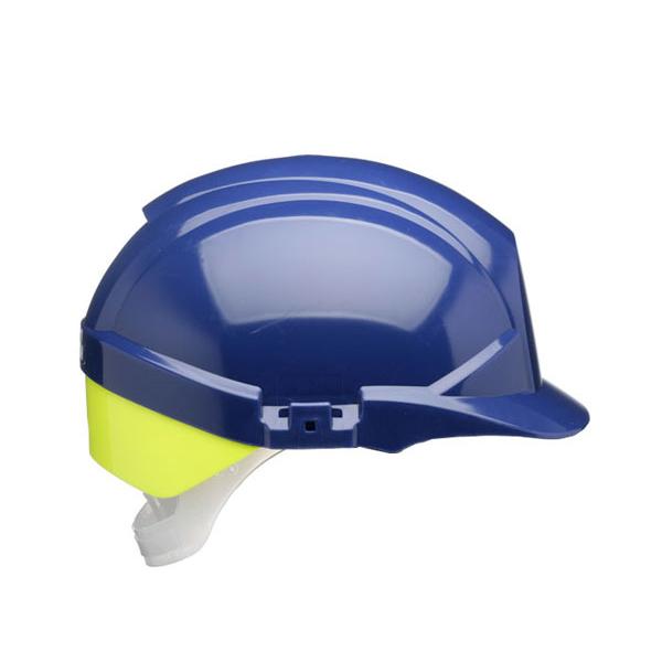 Centurion Reflex Safety Helmet Blue with Yellow Rear Flash Blue Ref CNS12BHVYA Up to 3 Day Leadtime