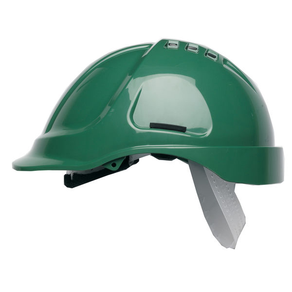 Scott HC600 Vented Helmet Green Ref HC600VG *Up to 3 Day Leadtime*