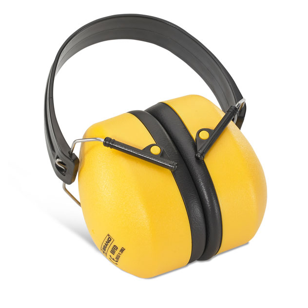B-Brand Folding Ear Defender Muffs Yellow Ref BBFED [Pack 10] Up to 3 Day Leadtime