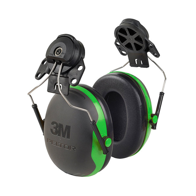 Limitless Peltor X1P3 Helmet Mounted Ear Defenders 26dB Green Ref X1P3 *Up to 3 Day Leadtime*