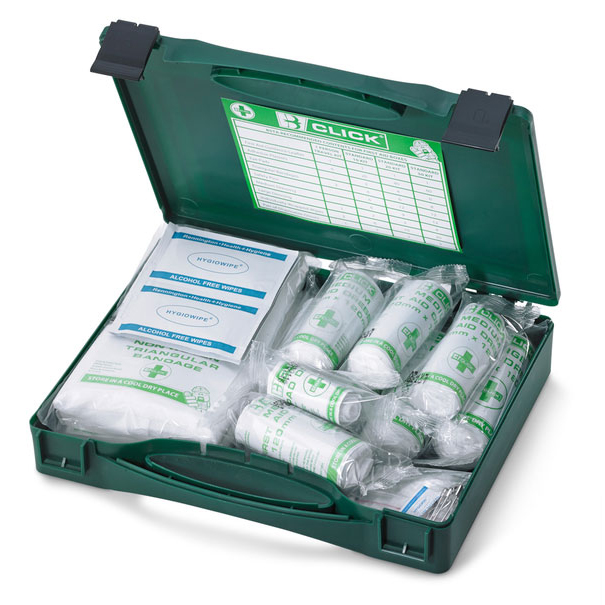 Click Medical 1-10 First Aid Kit Refill HSA Irish Ref CM0012 *Up to 3 Day Leadtime*