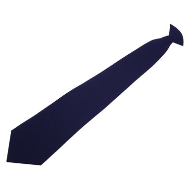 Ties Click Workwear Clip On Tie Navy Blue Ref COTN *Up to 3 Day Leadtime*