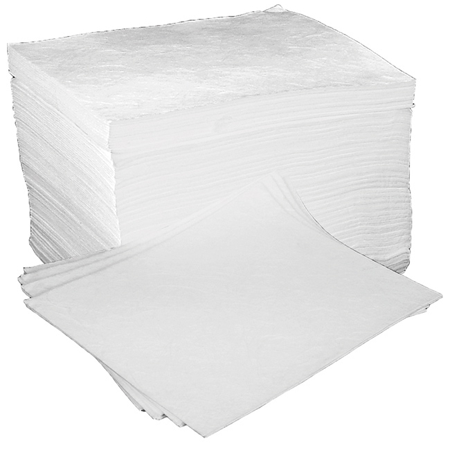 Fentex Oil & Fuel Absorbent Pads Ref OB100MF Pack 100 *Up to 3 Day Leadtime*