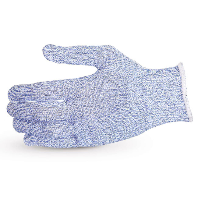 Superior Glove Sure Knit Cut-Resistant Food Industry Glove XS Blue Ref SUS10SXBXS *Up to 3 Day Leadtime*