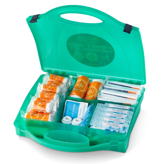 Click Medical Trader First Aid Kit 50 Person Ref CM0250 Up to 3 Day Leadtime