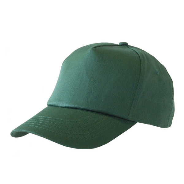 Click Workwear Baseball Cap Bottle Green Ref BCG *Up to 3 Day Leadtime*