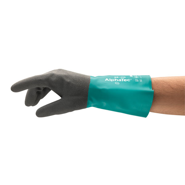 Image for Ansell Alphatec 58-430 Glove Large Ref AN58-430L Up to 3 Day Leadtime