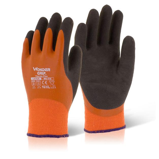 Wonder Grip Thermo Plus Glove 2XL Orange [Pack 12] Ref WG338XXL Up to 3 Day Leadtime